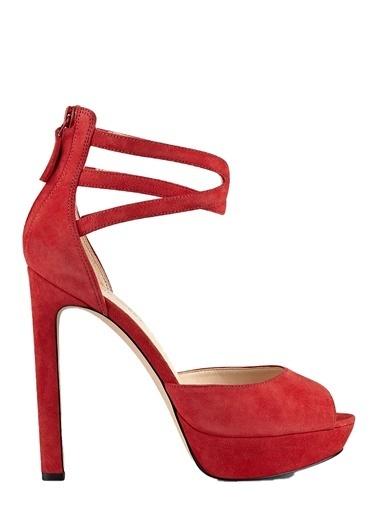Nine West Topuklu Ayakkabı Kırmızı Nine West Topuklu Ayakkabı Kırmızı 33415065d6b